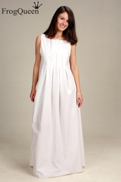 Сшить свадебное платье для беременной своими руками 7