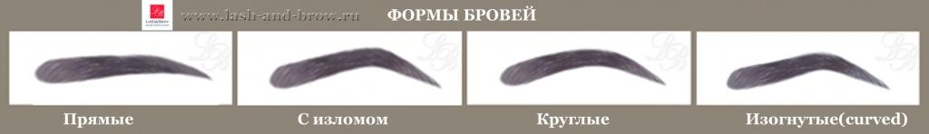 Как сделать прямую форму бровей