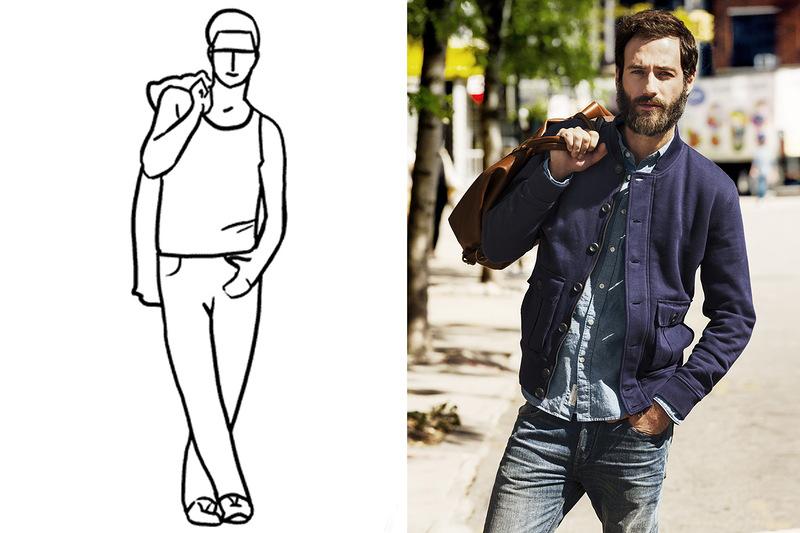 него страдают идеальные позы для фотосессии мужчин именно эта модель
