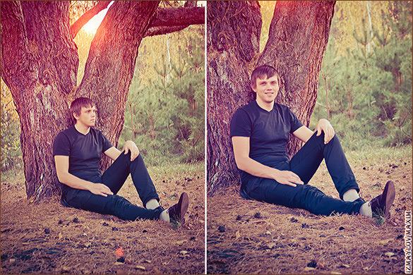 Идеи для фото на природе с парнем