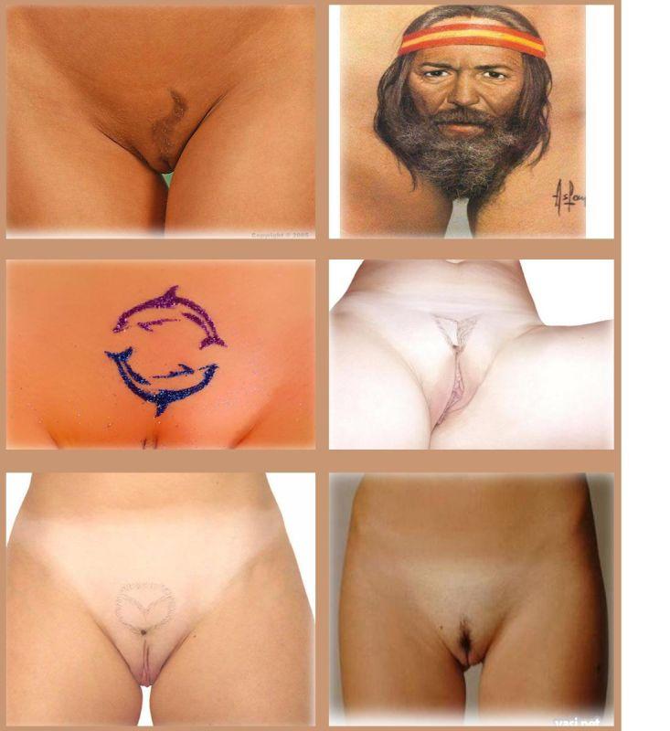 Прически в гениталиях