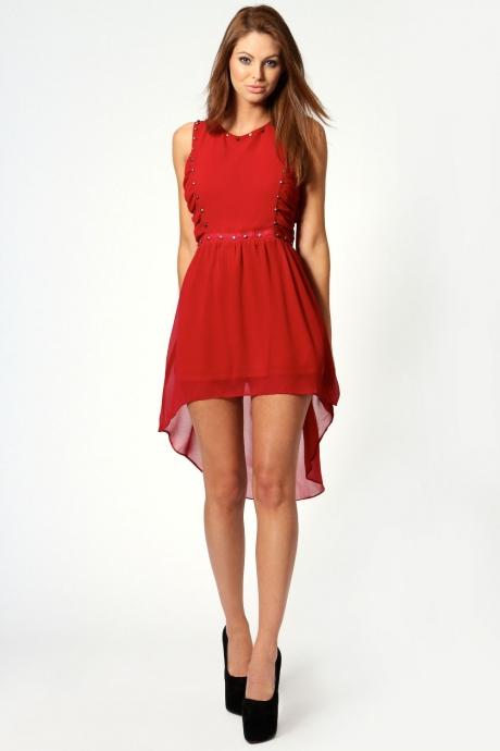 Фасоны платья для худых девушек