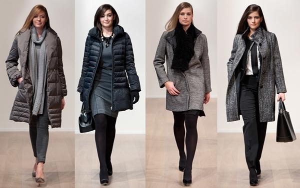 Зимняя Одежда Для Полных Женщин 2013-2014