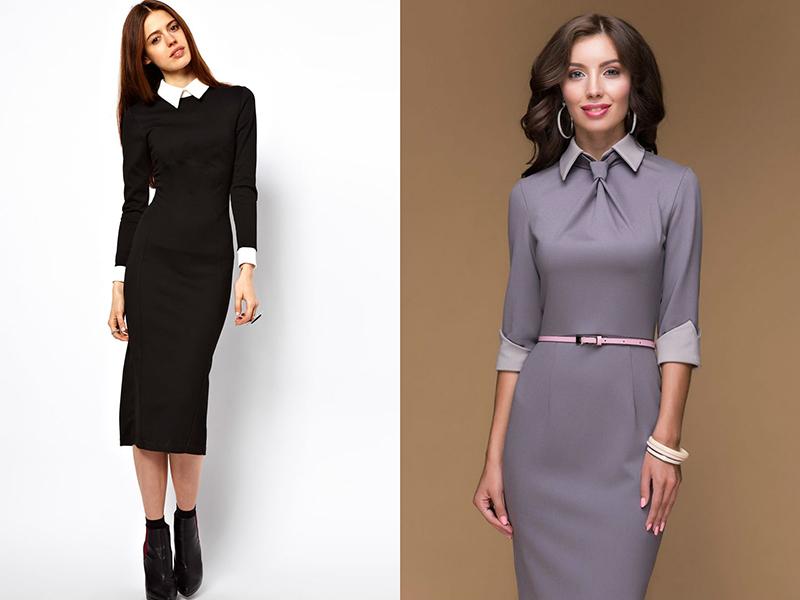 Платье в деловом стиле сшить