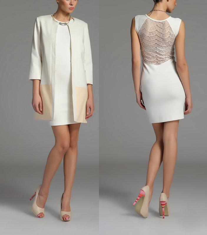 с чем одевать белое платье летом