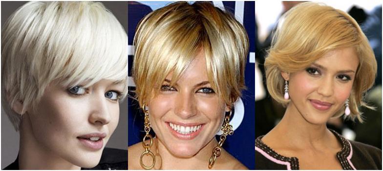 Прически на средние волосы фото для узкого лица фото