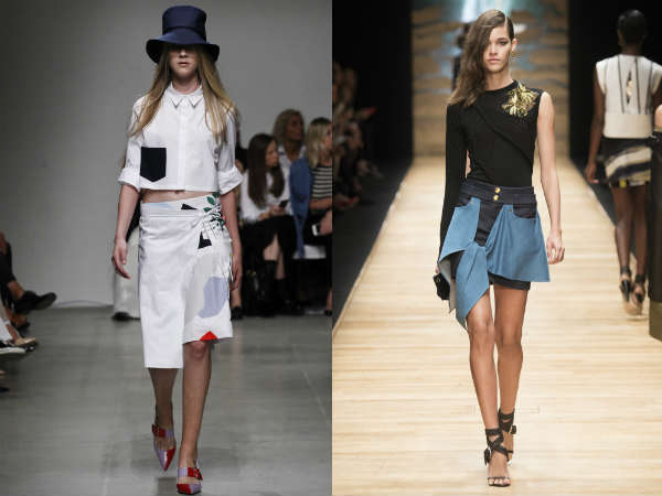 Мода Юбки Весна Лето 2013