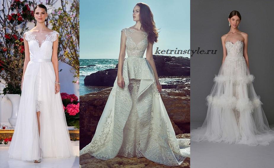 Свадебные платья 2017 для