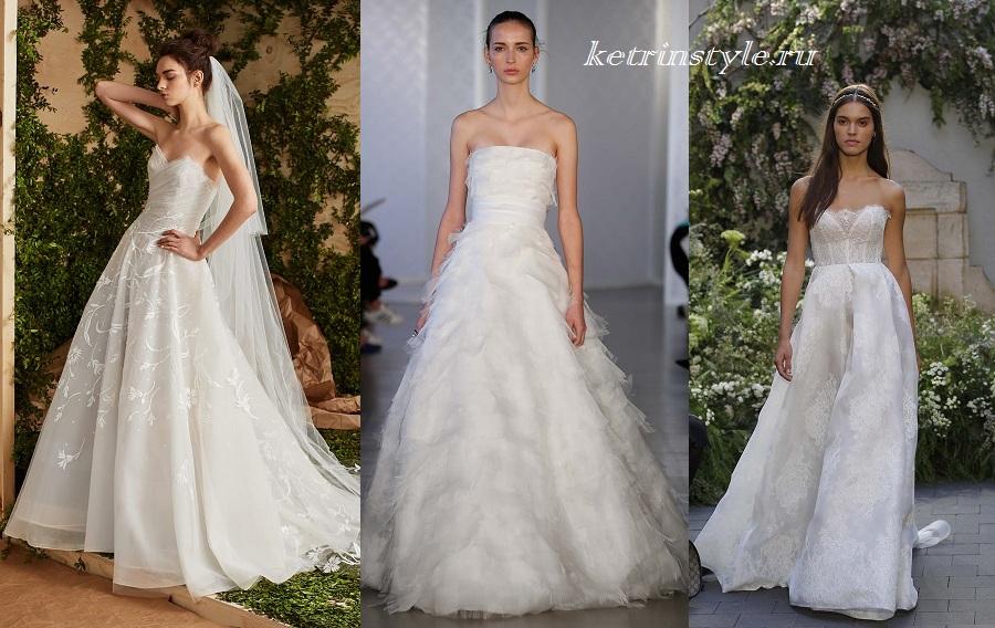 Шикарные свадебные платья 2017 новинки