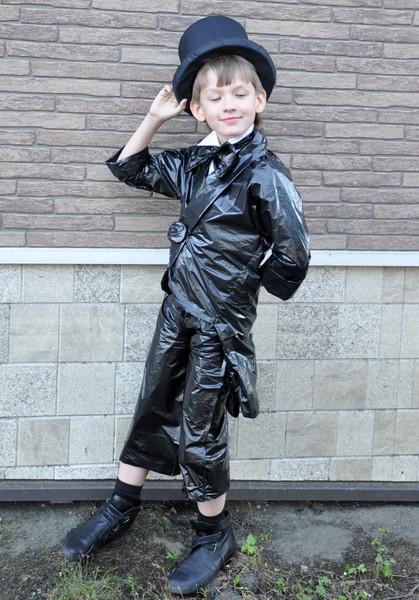 Мода из пакетов своими руками для мальчиков 84