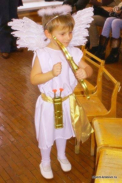 Костюм ангела для девочки своими руками для подростков