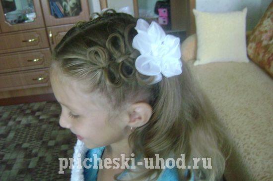 Причёски на короткие волосы фото для девочек на 1 сентября фото