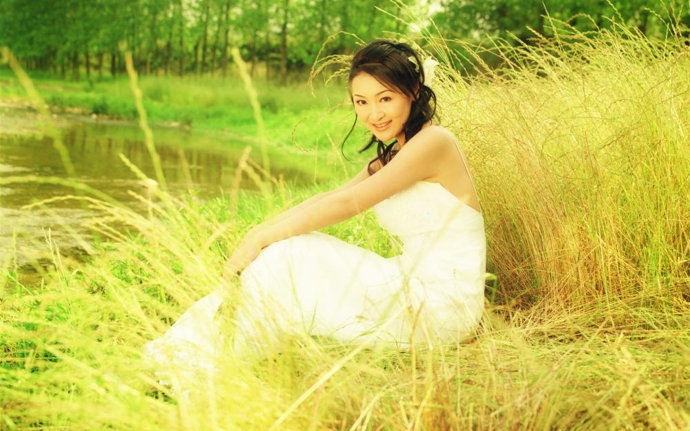 Красивые девушки фото в сарафанах