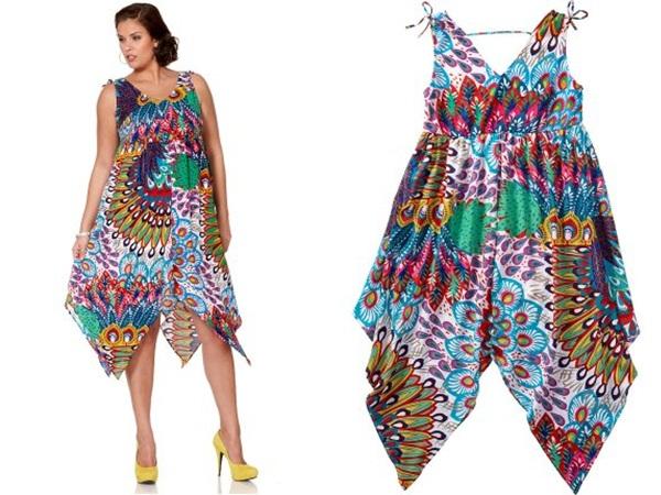 Как сшить платья сарафан на полных 24
