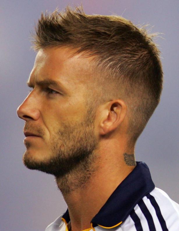 Mens haircut round face