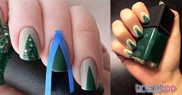 Красиво накрасить ногти пошаговое фото
