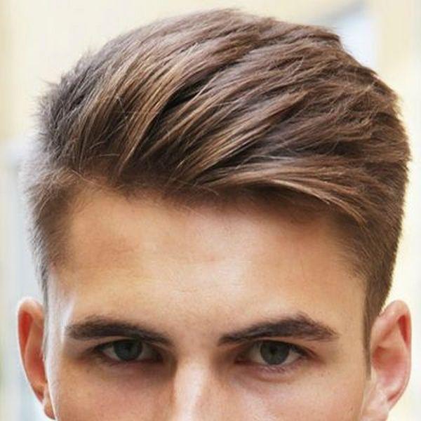 Модные причёски у юношей
