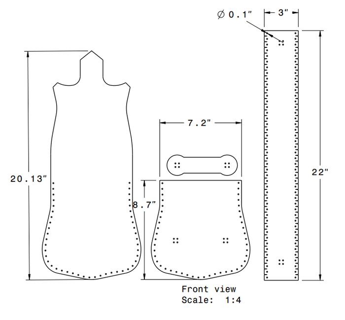 Выкройка сумки из кожи через плечо