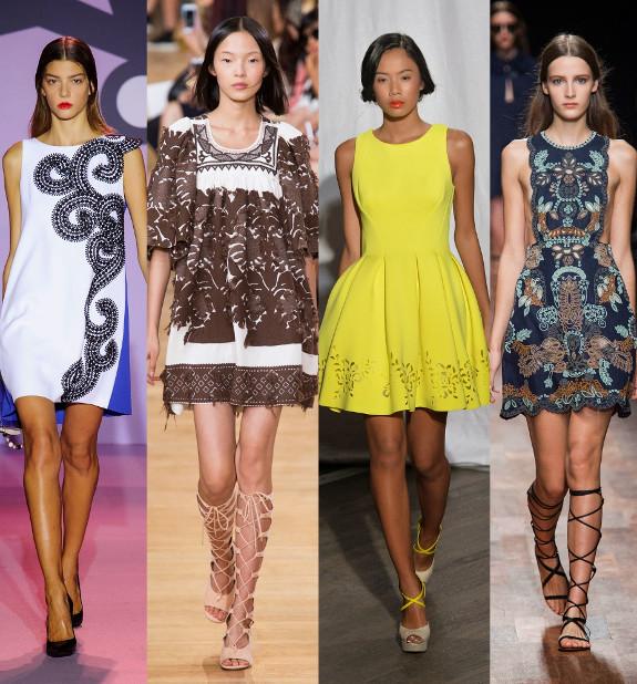 Модные платья всех видов