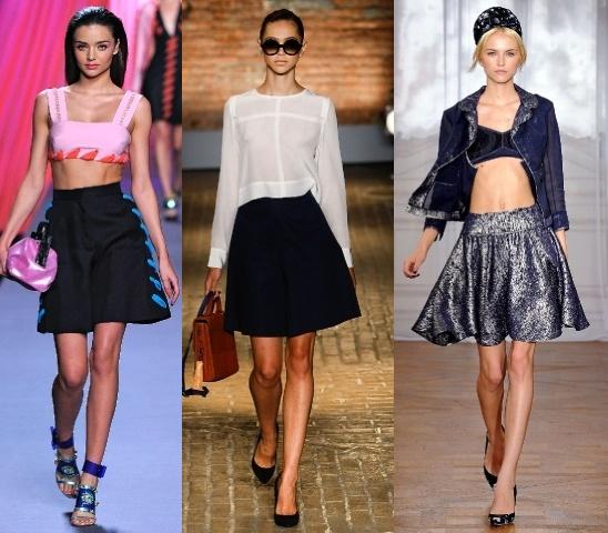 Какие модны юбки с сезоне