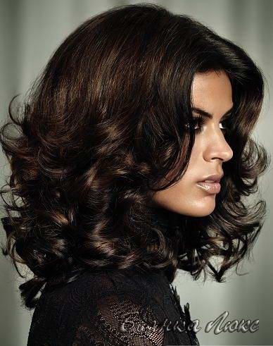 Объемные женские причёски