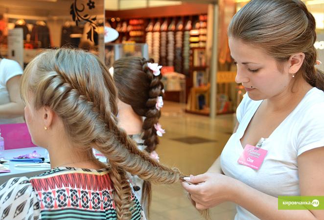 Прически с косами на редкие волосы средней длины