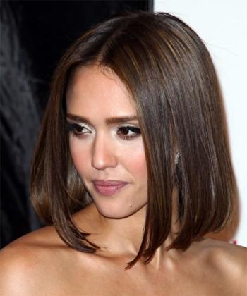 Jessica alba bob haircut