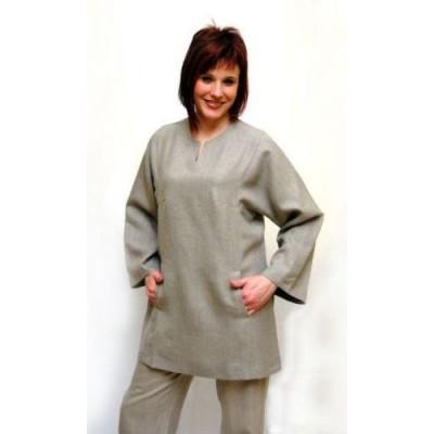Одежда Из Льна Для Полных Женщин Фото