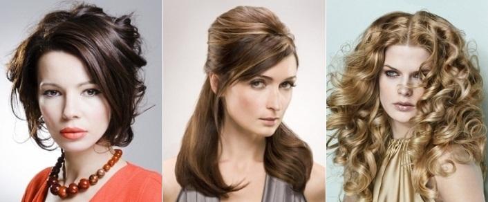 возрастные прически на длинные волосы