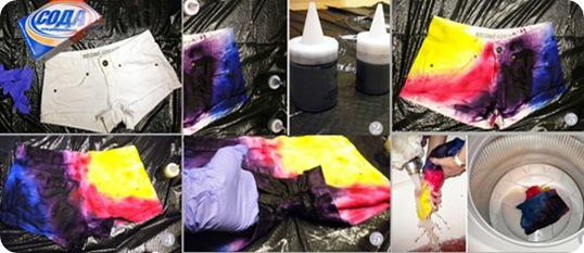 Как перекрасить вещь в другой как сделать