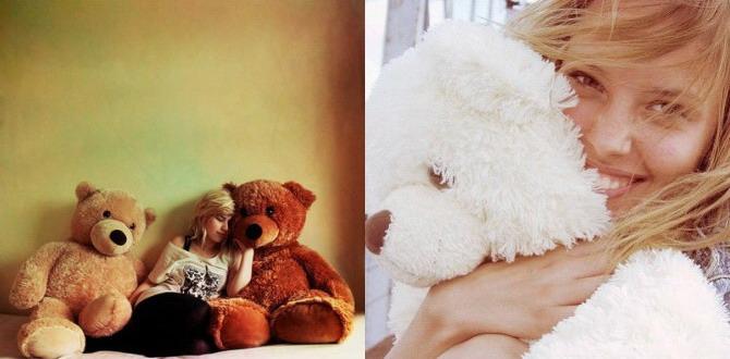 фото девушек с игрушкой фото