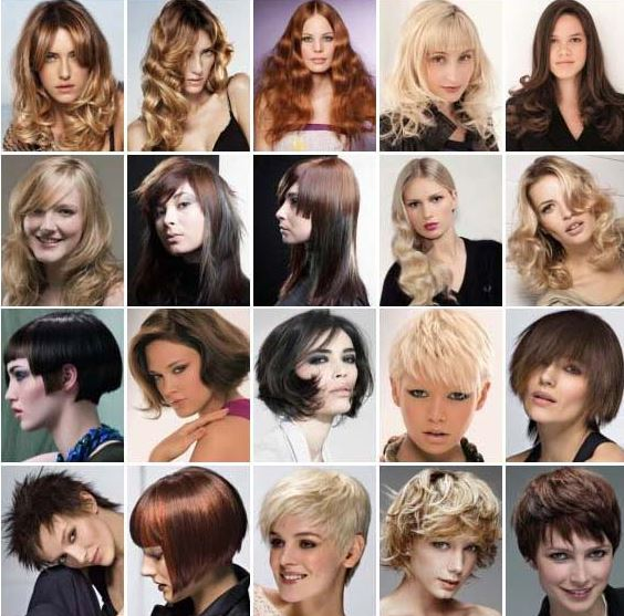 Картинки самые модные причёски