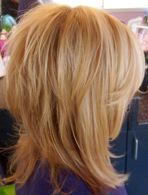 Виды причесок каскад на средние волосы