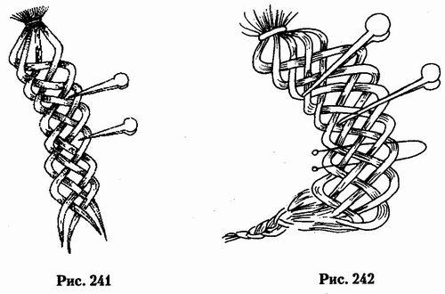 Многопрядное плетение схемы