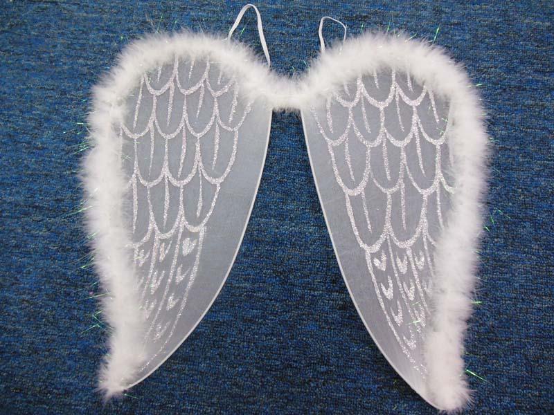Как сделать ангела крыльями