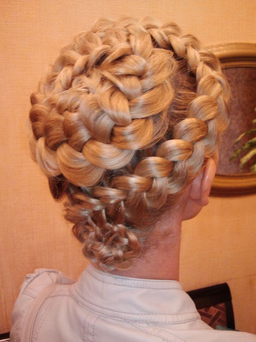 Как сделать две выпуклые косы