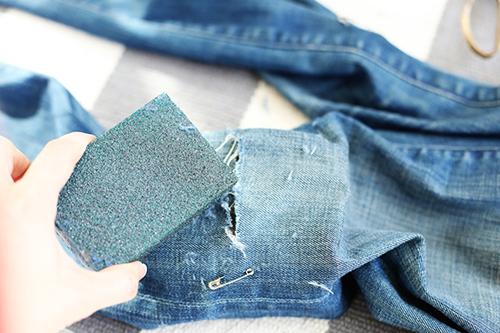 Как сделать рваные джинсы лезвием - Sort-metall.ru