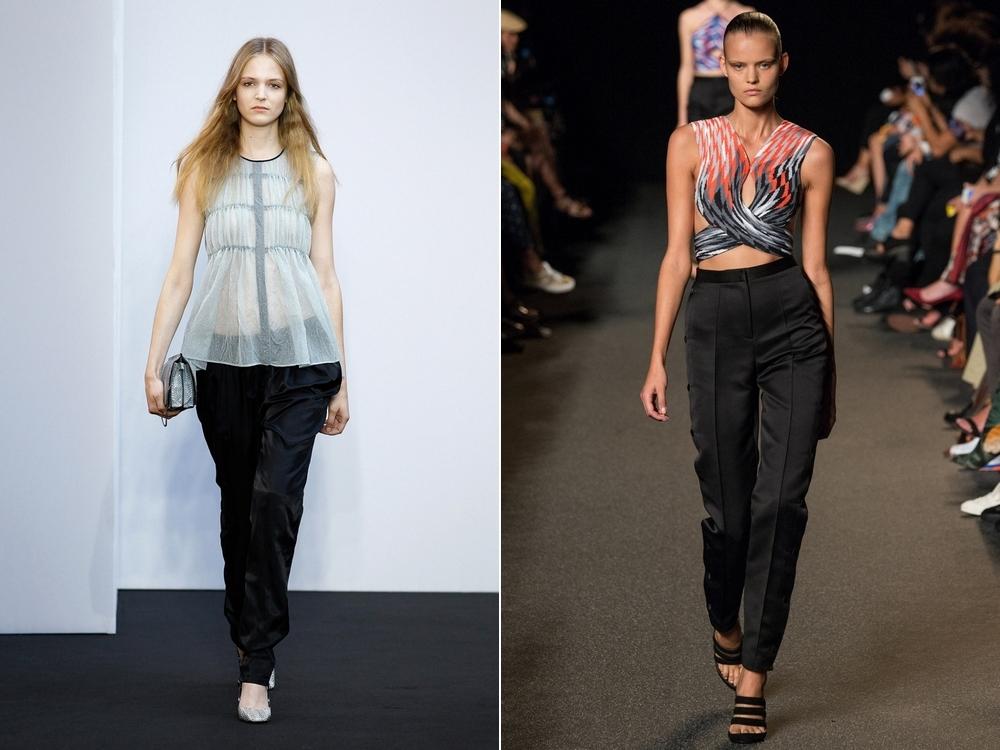 Брюки Мода Весна Лето 2015