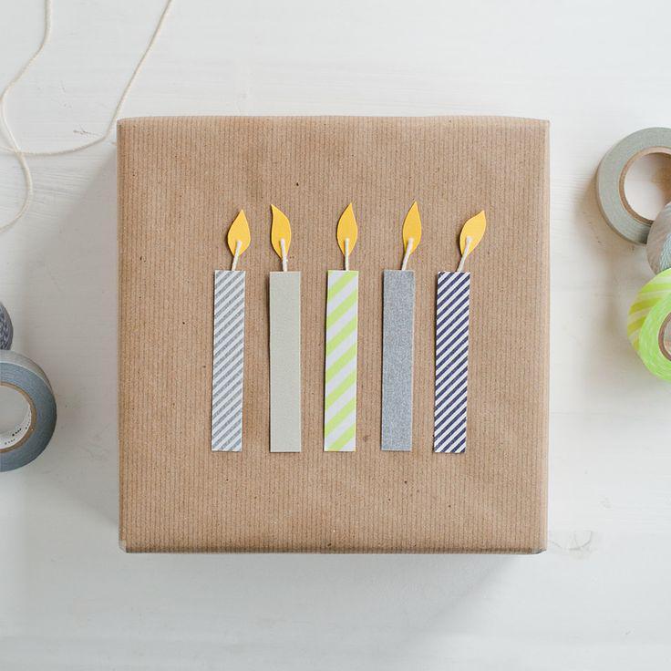 Упаковка подарков своими руками на день рождения