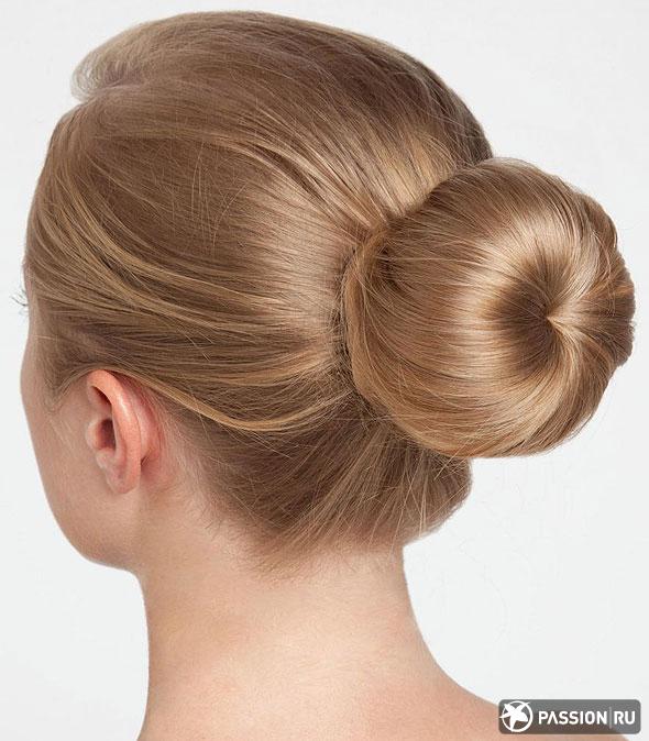 Пучок из волос как сделать - Мастерим своими руками