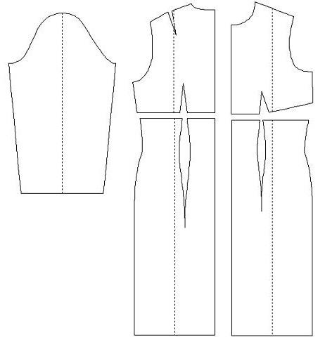 Выкройки для беременных платья с завышенной талией