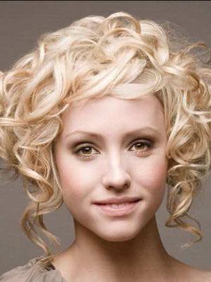 Женские прически на средние волосы завивка