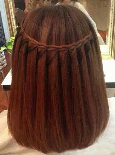 Прическа на удлиненное каре коса водопад своими руками - ФоксТел-Юг