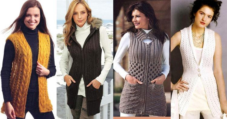 Женские пуловеры с листьями Вяжем с Лана Ви