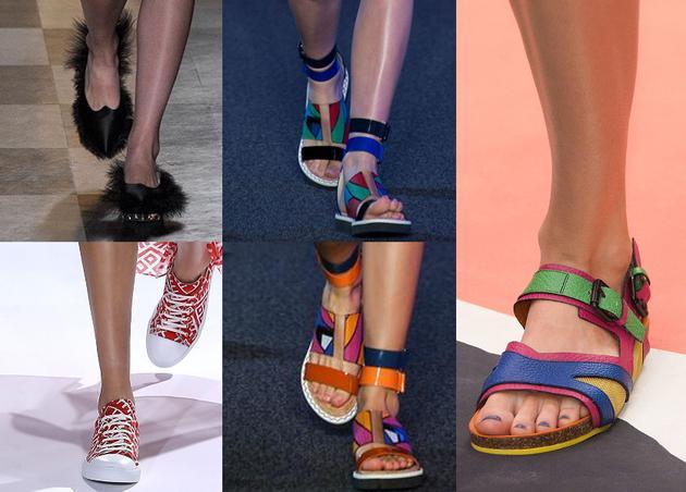 Модная обуви весна лето 2017