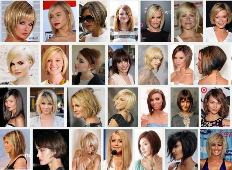 женские модельные прически фото и названия