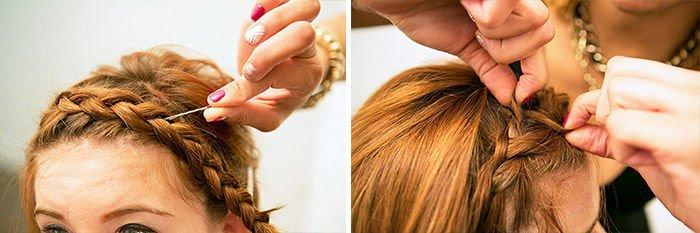Плетение кос на короткие тонкие волосы