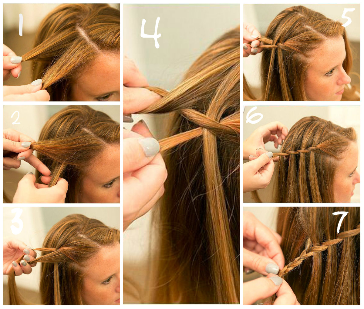 Прически на длинные волосы своими руками за 5 минут в школу