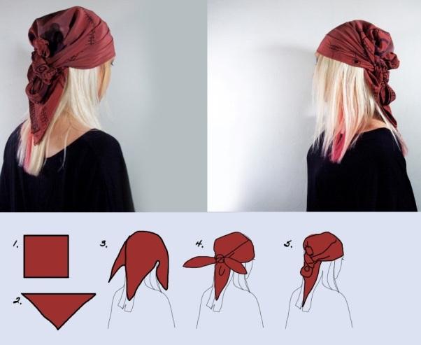 Пиратские повязки на голову