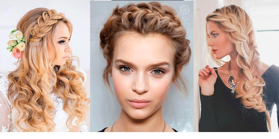 Вечерние прически на средние волосы 2016 женские